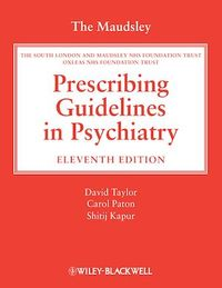 Vignette du livre The Maudsley Prescribing Guidelines in Psychiatry