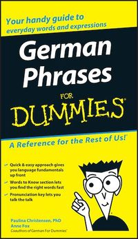 Vignette du livre German Phrases For Dummies®