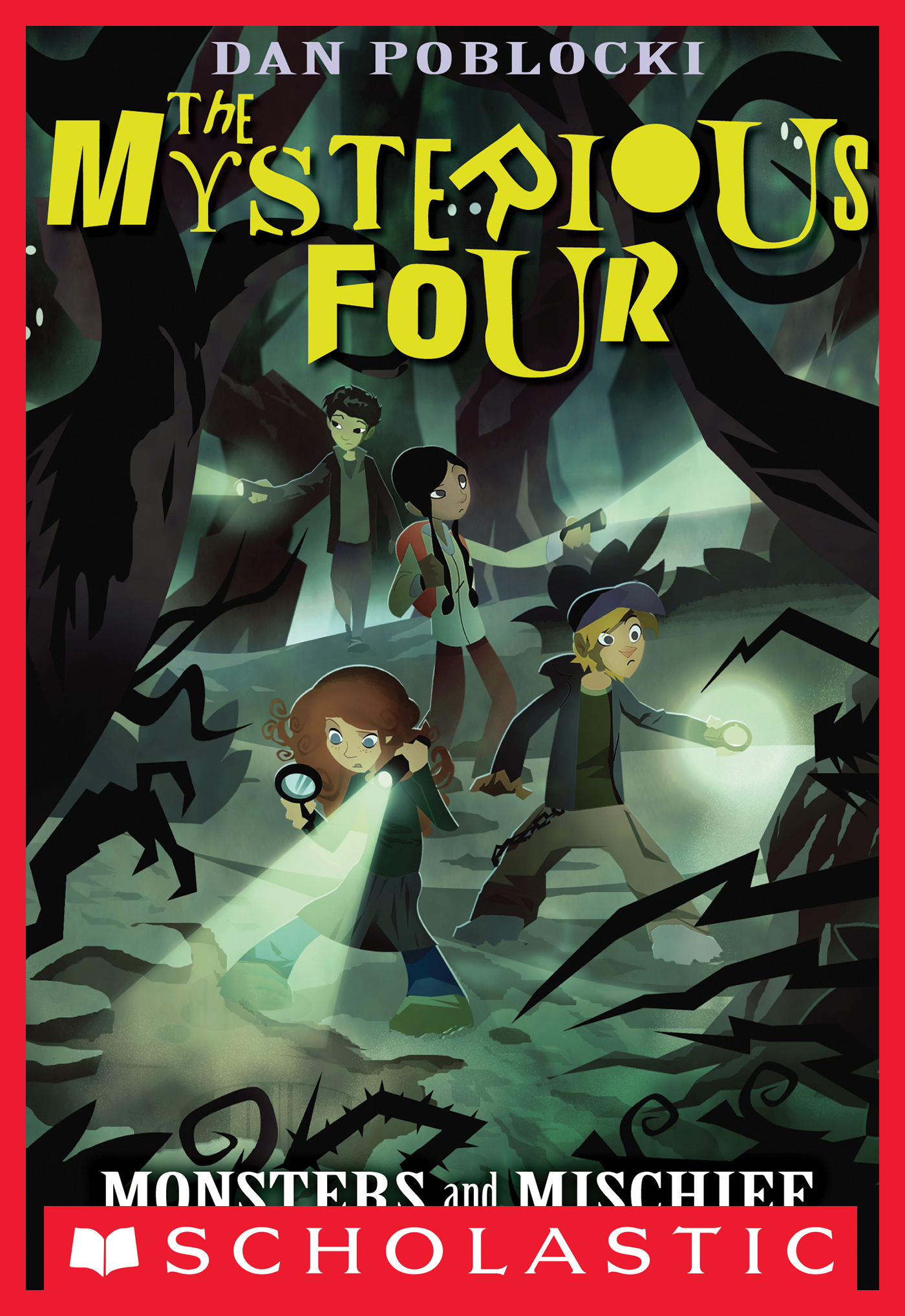 Vignette du livre The Mysterious Four #3: Monsters and Mischief