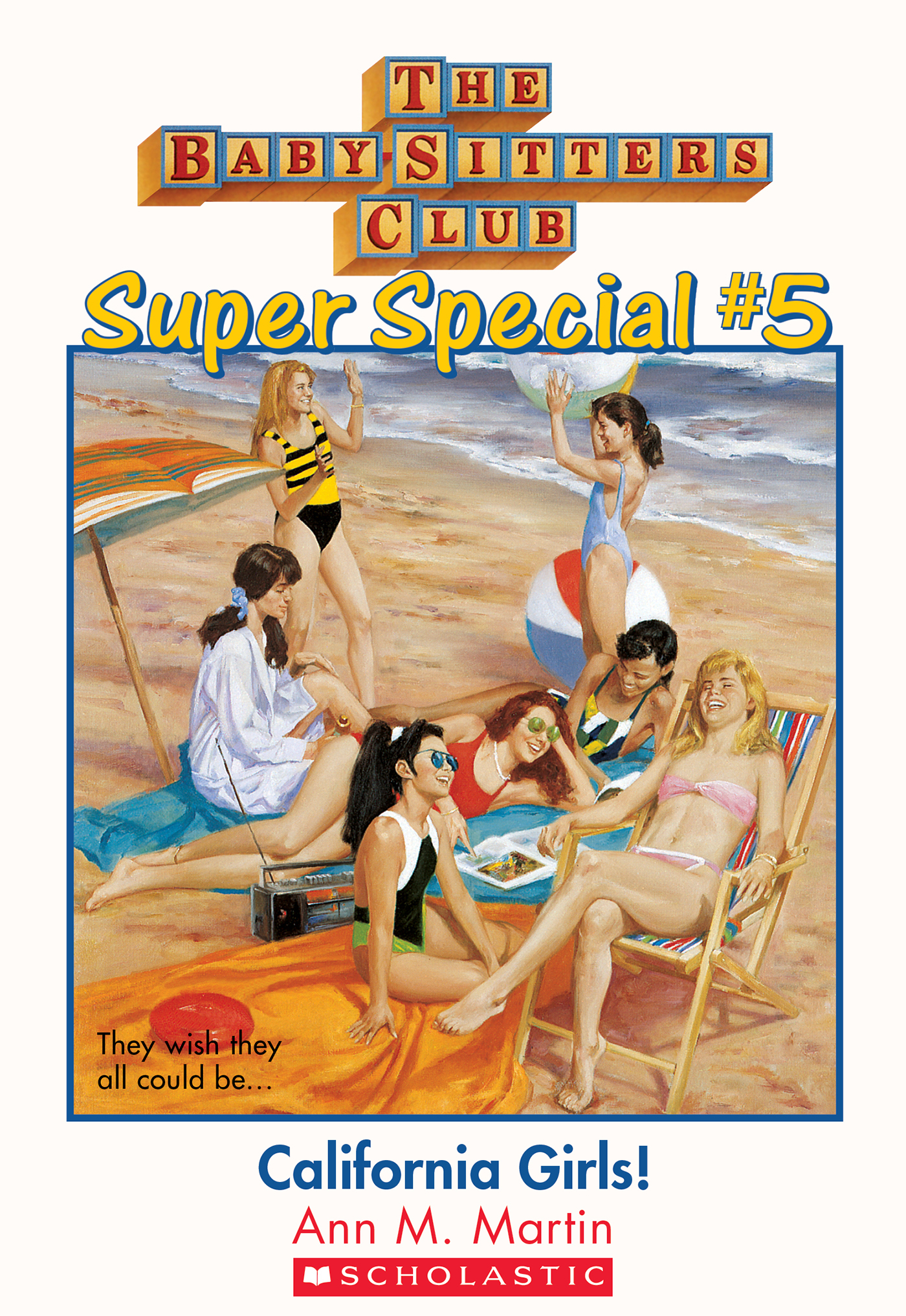 Vignette du livre The Baby-Sitters Club Super Special #5: California Girls