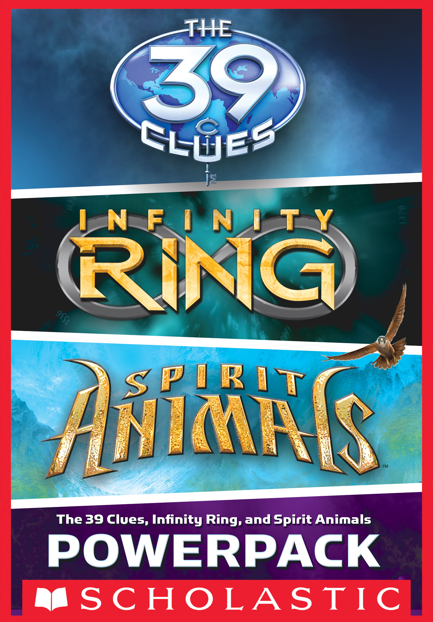 Vignette du livre The 39 Clues, Infinity Ring, and Spirit Animals Powerpack