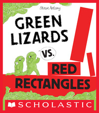 Vignette du livre Green Lizards vs. Red Rectangles