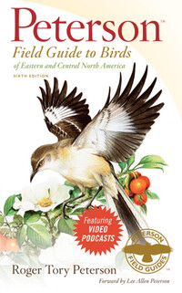 Vignette du livre Peterson Field Guide to Birds of Eastern and Central North America, Sixth Edition