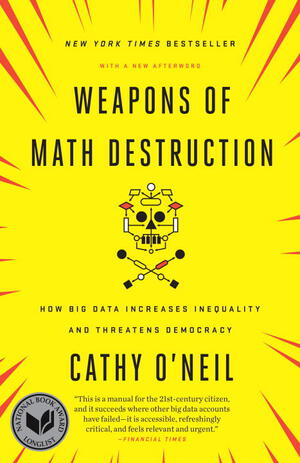 Vignette du livre Weapons of Math Destruction