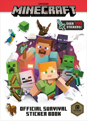 Vignette du livre Minecraft Official Survival Sticker Book (Minecraft)