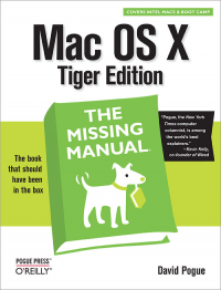 Vignette du livre Mac OS X: The Missing Manual, Tiger Edition