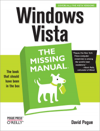 Vignette du livre Windows Vista: The Missing Manual