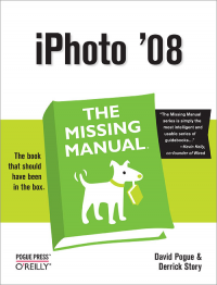 Vignette du livre iPhoto '08: The Missing Manual