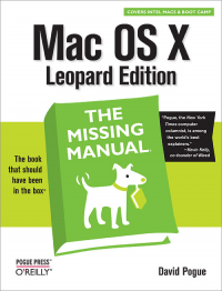 Vignette du livre Mac OS X Leopard: The Missing Manual