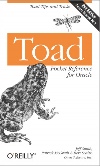 Vignette du livre Toad Pocket Reference for Oracle