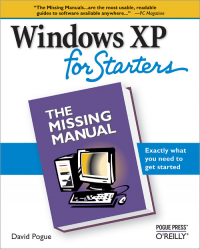 Vignette du livre Windows XP for Starters: The Missing Manual