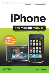 Vignette du livre iPhone: The Missing Manual