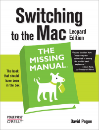 Vignette du livre Switching to the Mac: The Missing Manual, Leopard Edition