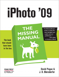 Vignette du livre iPhoto '09: The Missing Manual