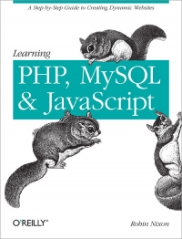 Vignette du livre Learning PHP, MySQL, and JavaScript