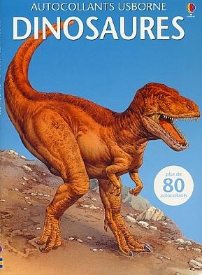 les dinosaures autocollants usborne