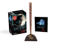 Vignette du livre Harry Potter Hermione's Wand with Sticker Kit