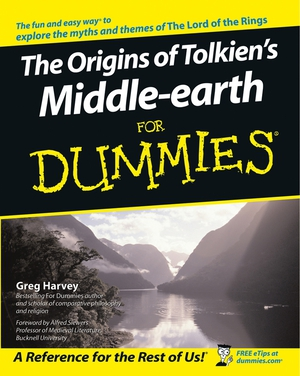 Vignette du livre The Origins of Tolkien's Middle-earth For Dummies