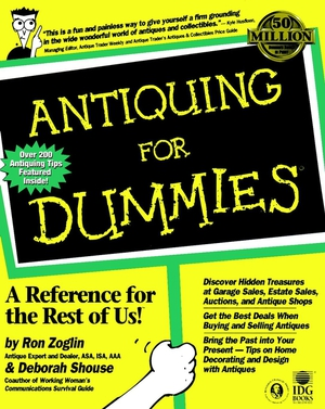 Vignette du livre Antiquing For Dummies