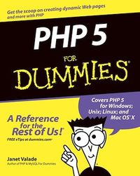Vignette du livre PHP 5 For Dummies®