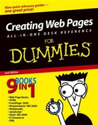Vignette du livre Creating Web Pages All-in-One Desk Reference For Dummies®