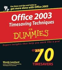 Vignette du livre Office 2003 Timesaving Techniques For Dummies®