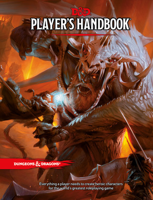 Vignette du livre Dungeons & Dragons Player's Handbook (Core Rulebook, D&D Roleplay