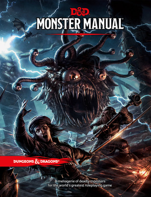 Vignette du livre Dungeons & Dragons Monster Manual (Core Rulebook, D&D Roleplaying
