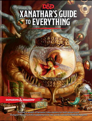 Vignette du livre Xanathar's Guide to Everything