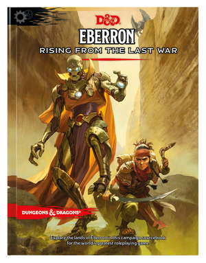 Vignette du livre Eberron: Rising from the Last War (D&D Campaign Setting and Adventure Book)