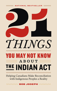 Vignette du livre 21 Things You May Not Know About the Indian Act