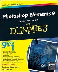 Vignette du livre Photoshop Elements 9 All-in-One For Dummies
