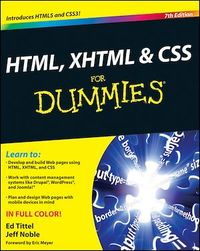 Vignette du livre HTML, XHTML and CSS For Dummies