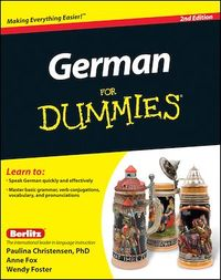 Vignette du livre German For Dummies, Enhanced Edition