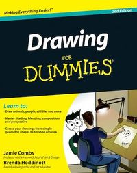 Drawing For Dummies, Jamie Combs