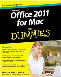Vignette du livre Office 2011 for Mac For Dummies