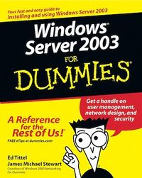 Vignette du livre Windows Server 2003 For Dummies