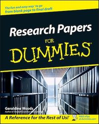Vignette du livre Research Papers For Dummies