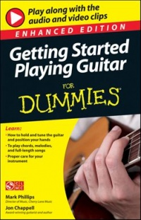 Vignette du livre Getting Started Playing Guitar For Dummies, Enhanced Edition