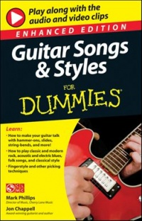 Vignette du livre Guitar Songs and Styles For Dummies, Enhanced Edition