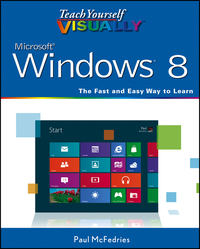 Vignette du livre Teach Yourself VISUALLY Windows 8