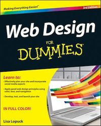 Vignette du livre Web Design For Dummies