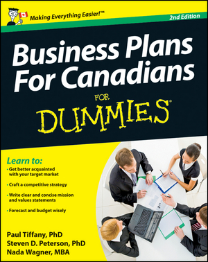 Vignette du livre Business Plans For Canadians for Dummies