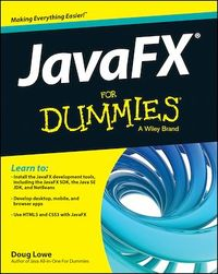Vignette du livre JavaFX For Dummies