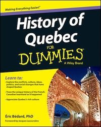 Vignette du livre History of Quebec For Dummies