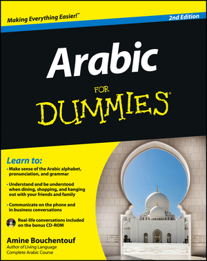 Vignette du livre Arabic For Dummies