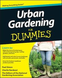 Vignette du livre Urban Gardening For Dummies