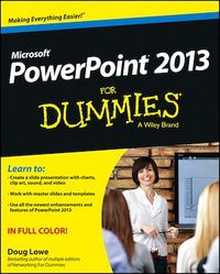 Vignette du livre PowerPoint 2013 For Dummies