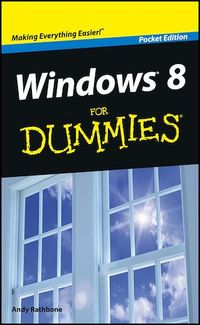 Vignette du livre Windows 8 For Dummies, Pocket Edition