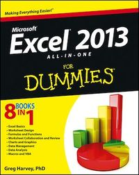 Vignette du livre Excel 2013 All-in-One For Dummies